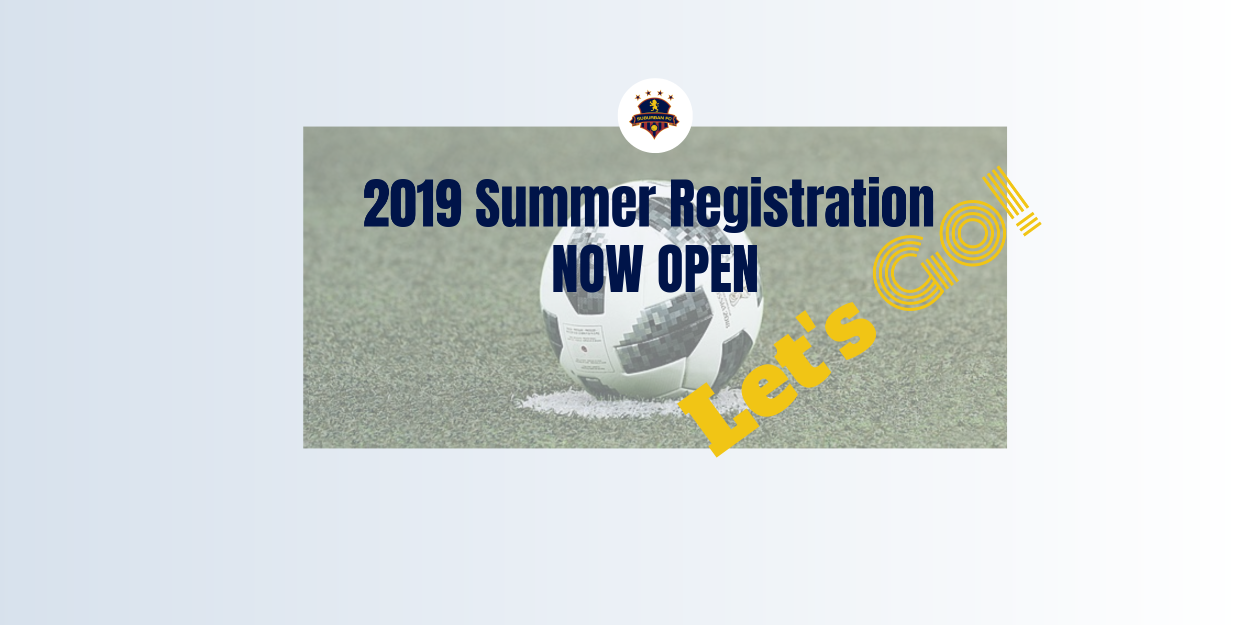 Summer Registration NOW OPEN!