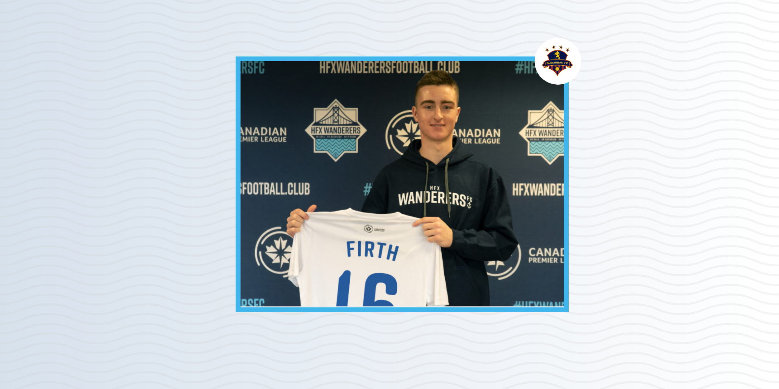 Scott Firth signs with HFX Wanderers
